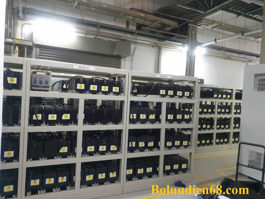 Hệ thống tủ ắc quy cho UPS Công nghiệp